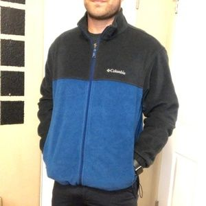 Columbia Steens Mountain Fleece Zip Up Jacket